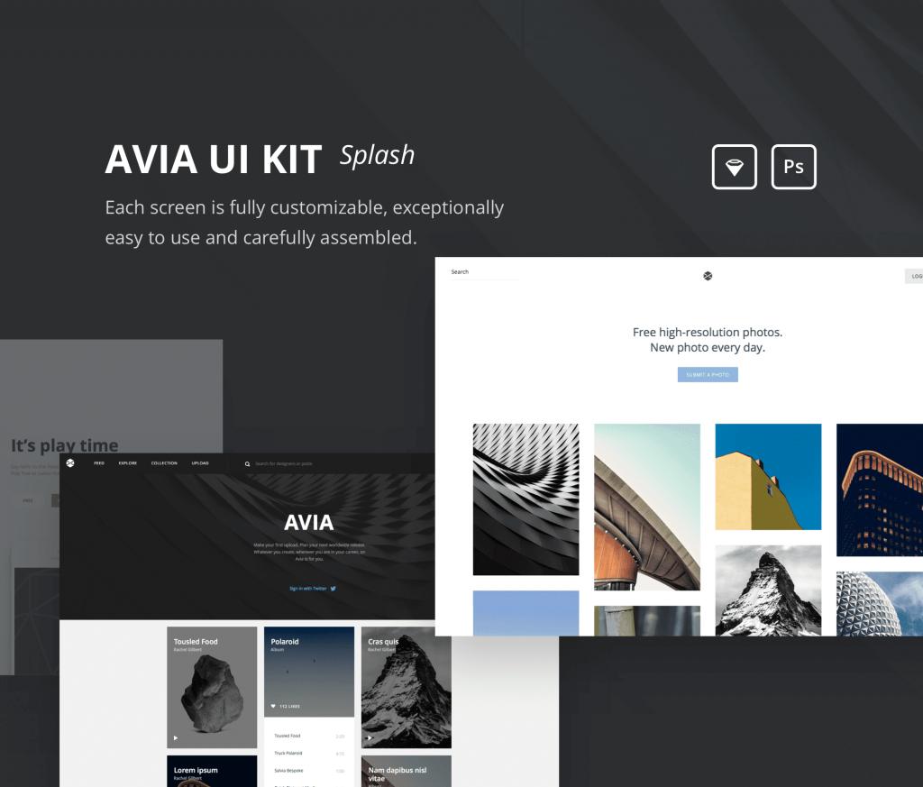 Фото - Ui-kit и иконки для начинающих веб дизайнеров